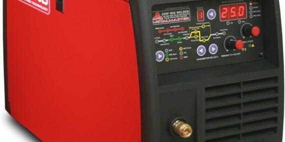 250 amp single phase pulse mig welder metalmaster 250P